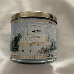 Bath & Body Works Winter Scented Candle
